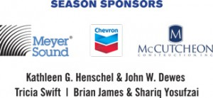 Many thanks to our season sponsors!