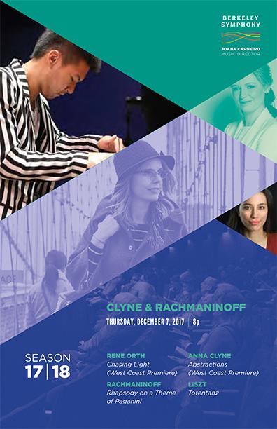 Dec 7, 2017 - Clyne & Rachmaninoff