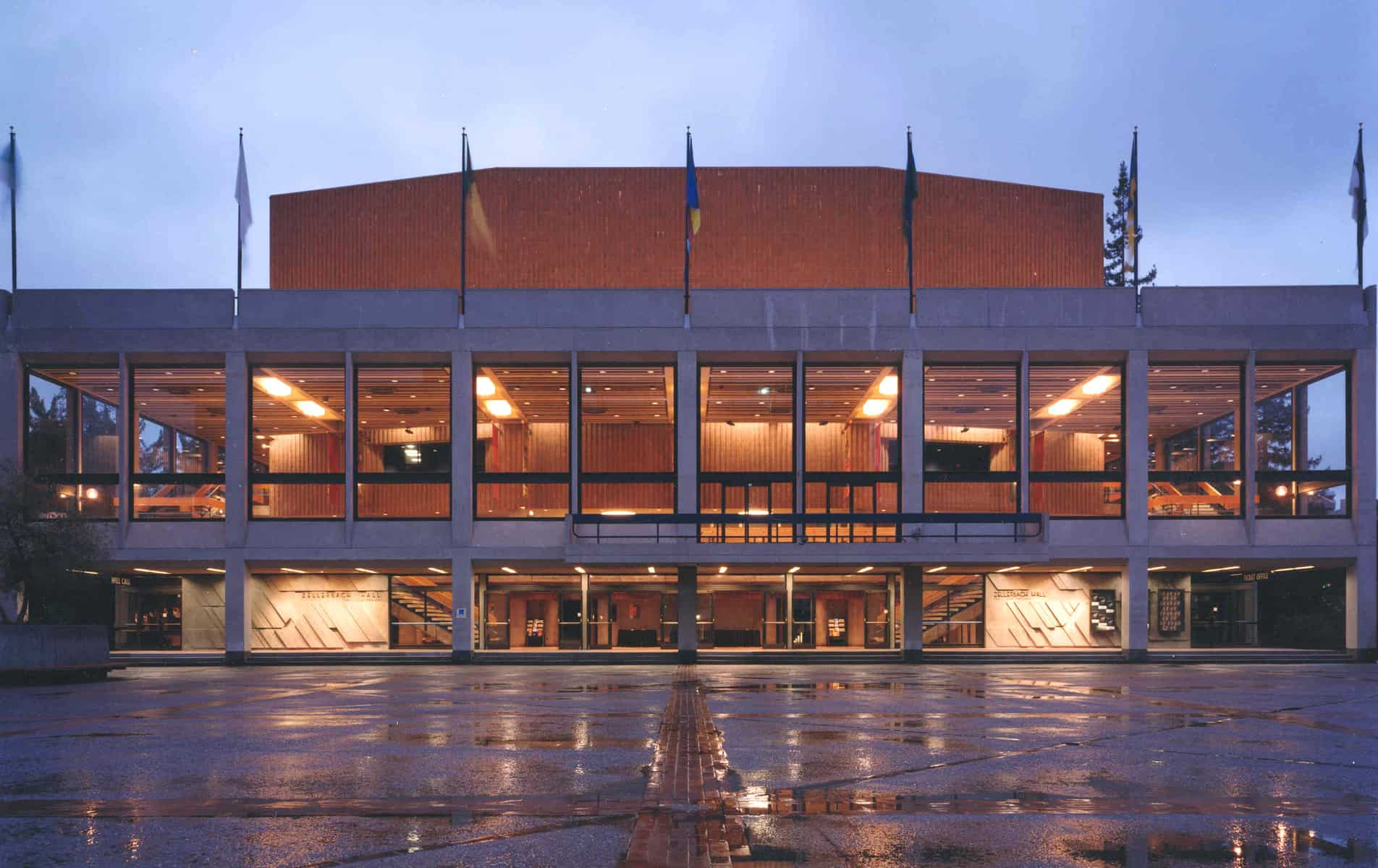 Zellerbach Hall, UC Berkeley